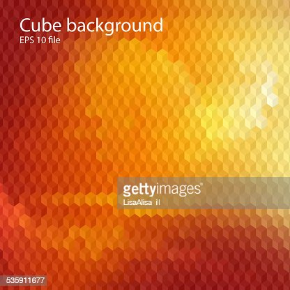 Technology background with 3d cubes : Vector Art