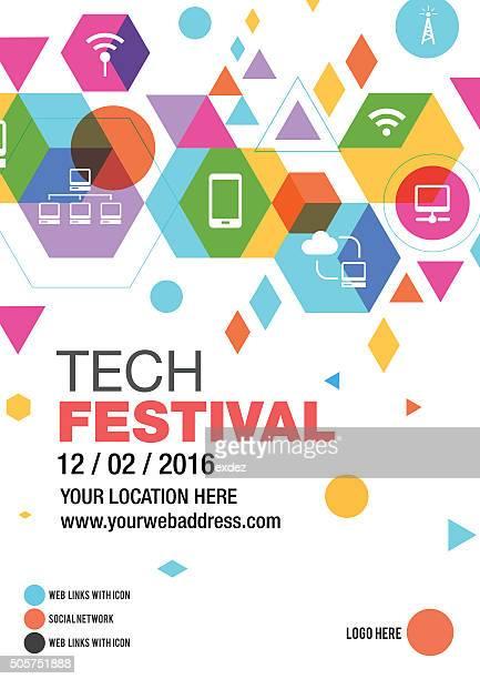Tecnologia Fest poster design