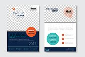 Template Design Brochure Set, Annual Report, Magazine, Poster, Corporate Presentation Collection, Portfolio, Flyer With Copy Space Vector Illustration