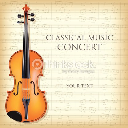 Classical music program template gallery template design ideas template for a classical music concert program vector art thinkstock template for a classical music concert thecheapjerseys Image collections