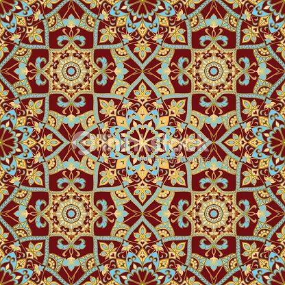 Vorlage Fur Mosaik Fliesen Vektorgrafik Thinkstock