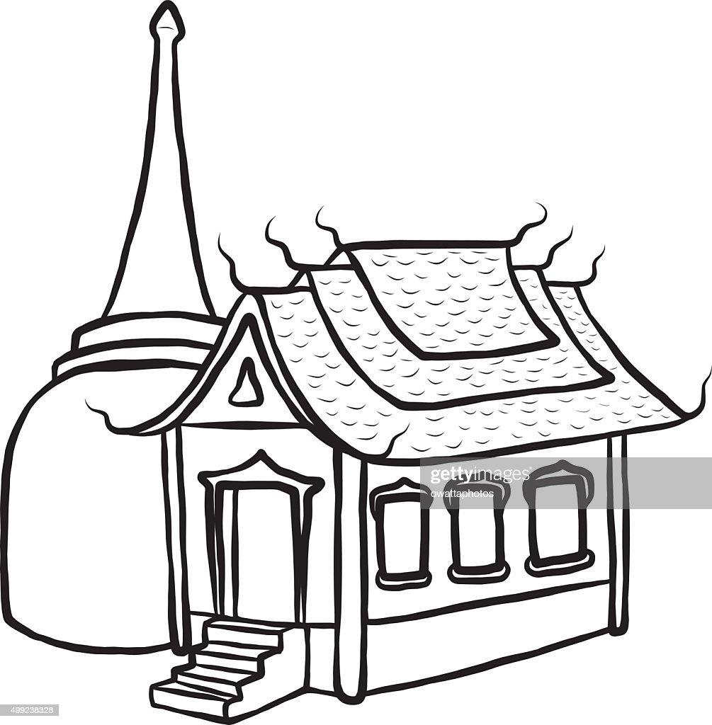 temple and pagoda vector art thinkstock rh thinkstockphotos com template clip art temple clipart