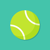 Tennis Ball Illustration with EPS 10 File. Easy to edit and use