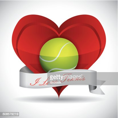 design de tennis : Clipart vectoriel