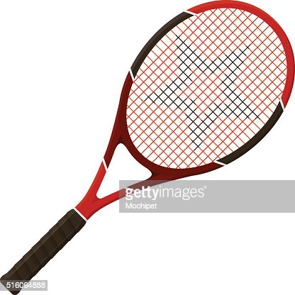 Tennis racket : stock vector