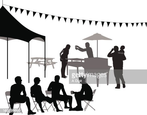 picnic table vector art and graphics getty images