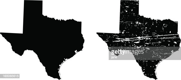 Texas Map Silhouette at GetDrawingscom  Free for