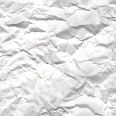 Texture of crumpled white paper vector illustration. design for holiday greeting card and invitation