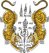 dcbbedeac Thai Traditional Tattootiger stock vector - Thinkstock