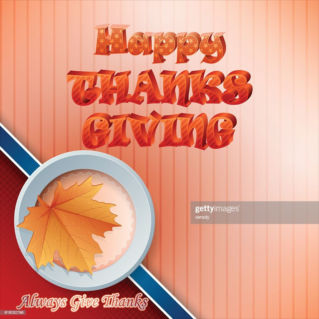 Thanksgiving celebration : Vector Art