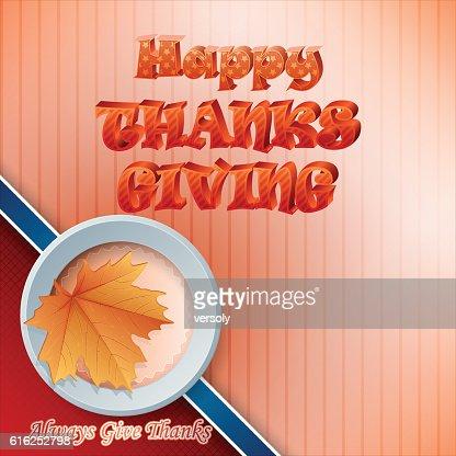 Celebração de Ação de Graças : Arte vetorial