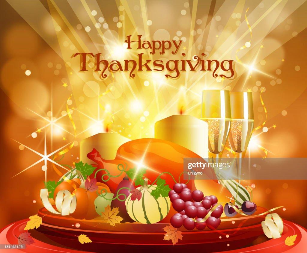 Thanksgiving Celebrations Background : Vector Art