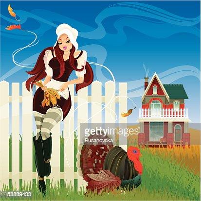 Thanksgiving : Arte vectorial