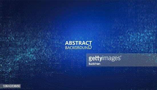 The abstract halftone background consists of different dots. : stock vector