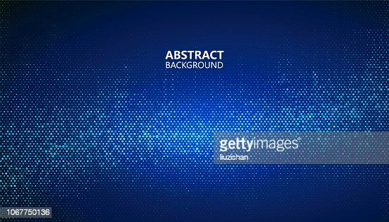 The abstract halftone background consists of different dots. : Vector Art