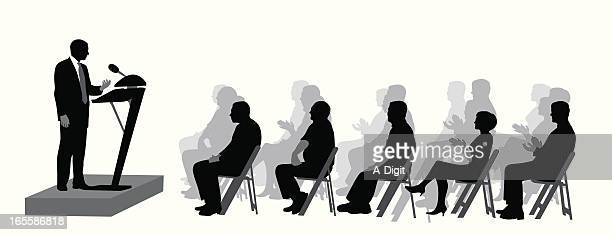 The Audience Vector Silhouette
