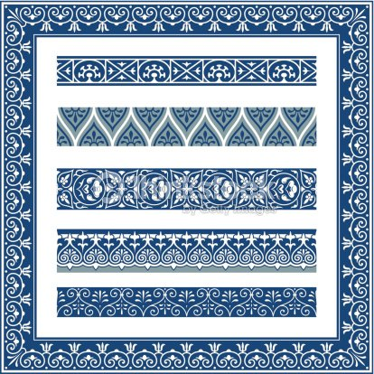 The Frames Of Ancient Greek Style Vector Art | Thinkstock