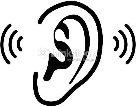 La oreja humanailustraci n vectorial arte vectorial - Clipart oreille ...