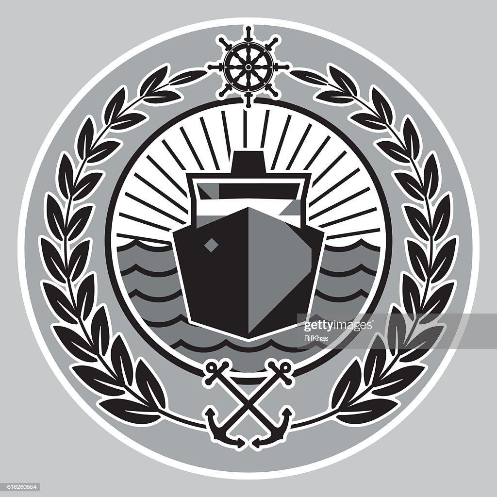 The symbol dedicated to navigation. : Vector Art