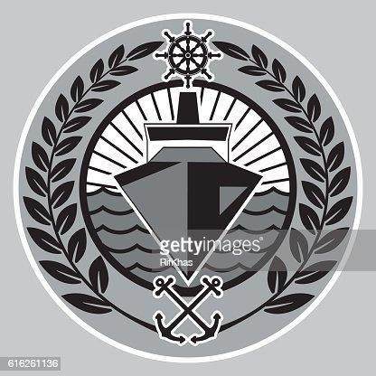 The symbol dedicated to navigation. : Arte vectorial