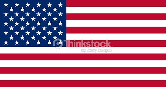 The United States of America Flag, vector illustration : stock vector