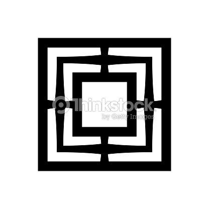 Die Hexe Mühle Okkulte Zeichen Der Hexerei Zauber Magische Symbol