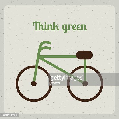 think green : Vector Art