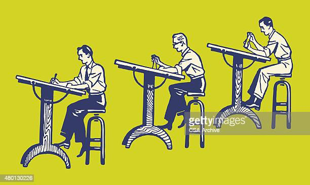 Three Draftsmen