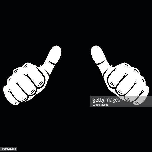 Thumbs up  Illustration - VECTOR