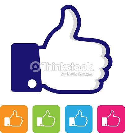 Thumbs Up Like Symbol Vector Art Thinkstock