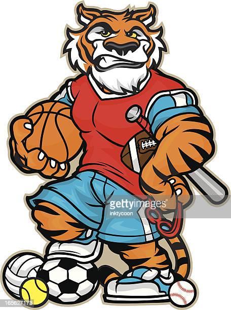 Tiger Allsport Mascot