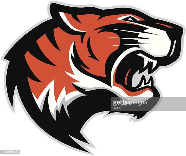 Tiger head mascot 2