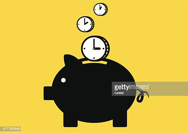 Time is Money | Yellow Business Concept