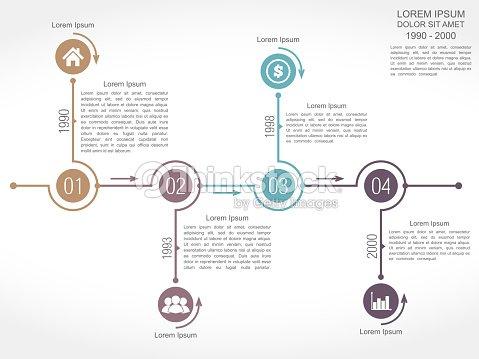 Timeline Design Template Vector Art Thinkstock - Timeline design template