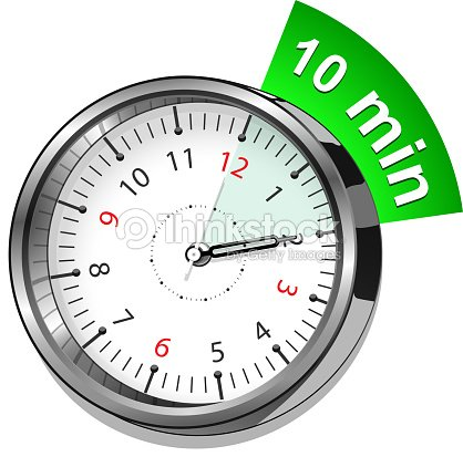 timer 10 minutes vector art thinkstock