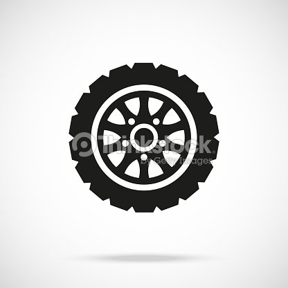 c76e31d748d198 Tire Icon Car Wheel Vector Icon Vector Art | Thinkstock