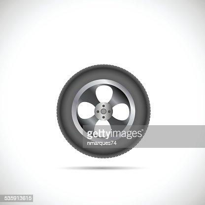 Tire ilustración : Arte vectorial