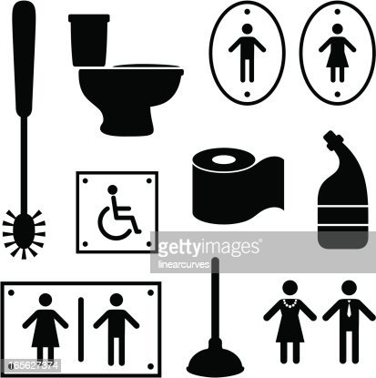 Toilet items   Vector Art. Toilet Items Vector Art   Getty Images