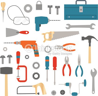 Tool And Hardware Clip Art Vector Art | Thinkstock