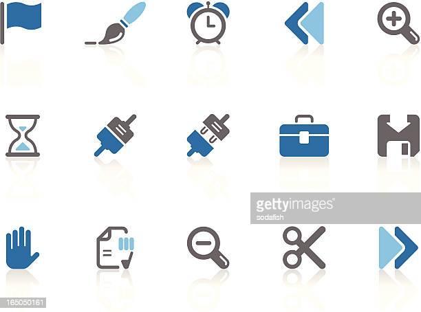 Toolbar & Interface icons | azur series
