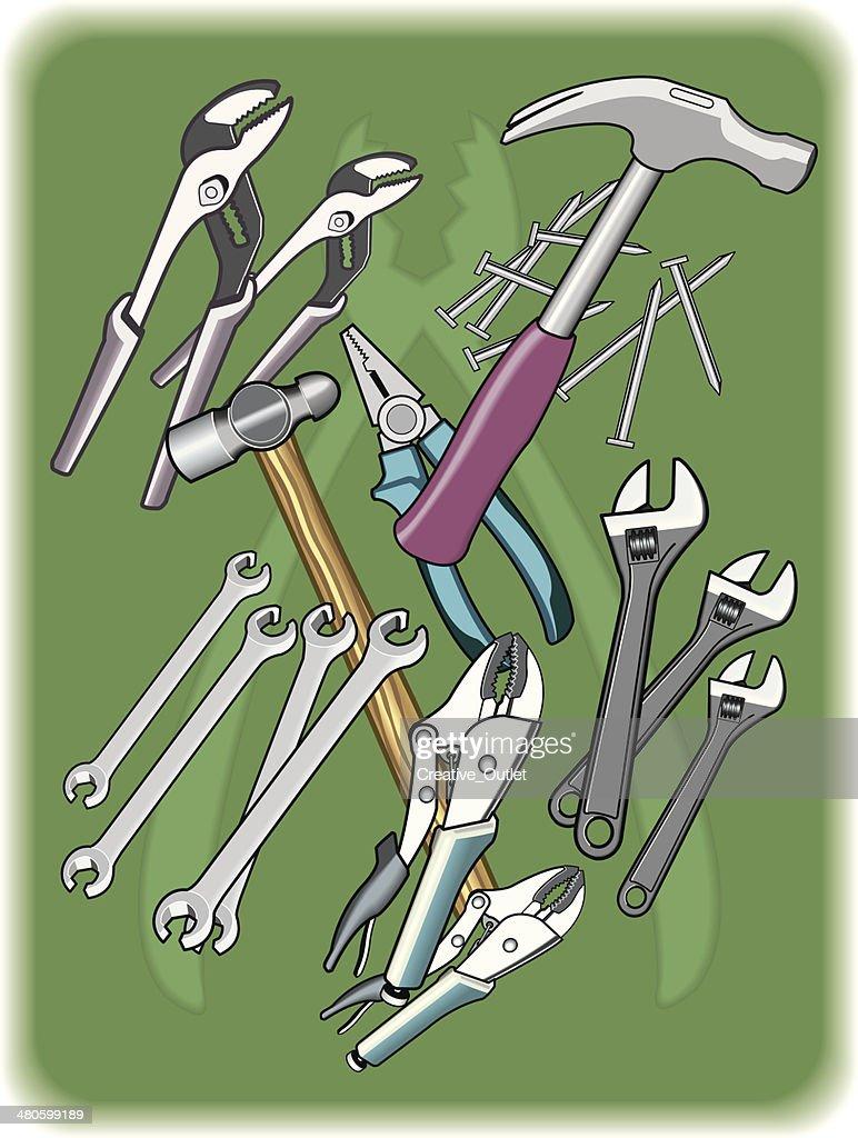 Tools C : Vector Art