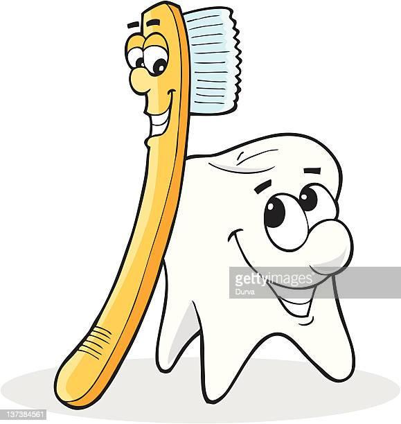 Y cepillo de dientes