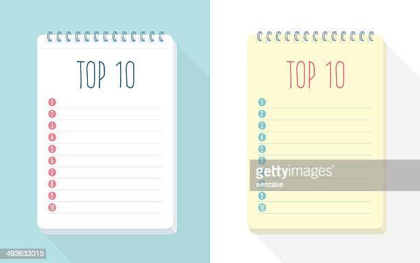 Top 10 de la liste