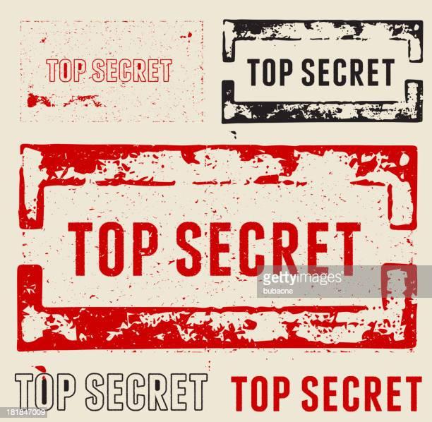 Top Secret Grunge Stamps