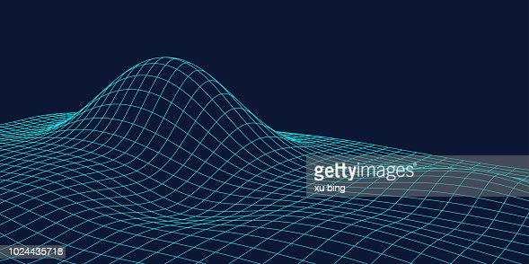 Contour Lines On A Topographic Map Connect.3d Topographic Maps Contour Lines Abstract Dotted Line Technology