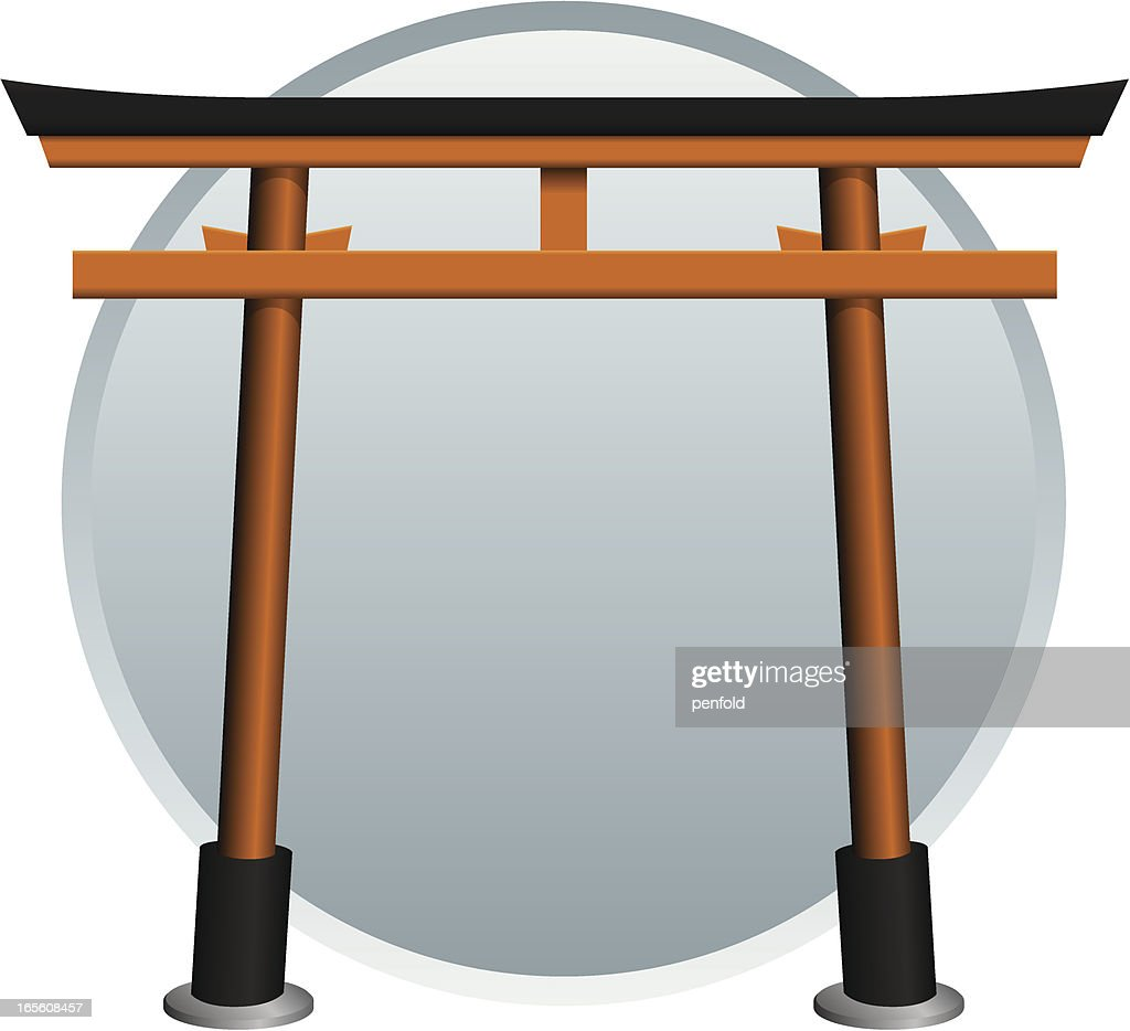 Torii Gate Vector Art | Getty Images