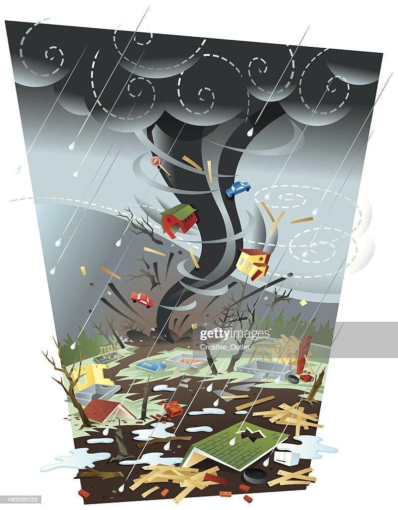 Tornado C : Vector Art