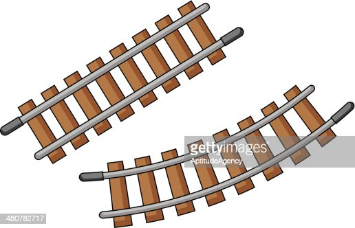 Toy Train Track Vector Art Thinkstock