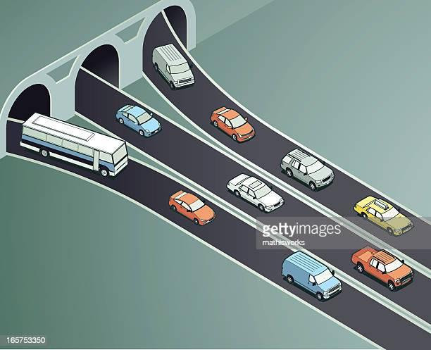 Controladores de tráfico ilustración