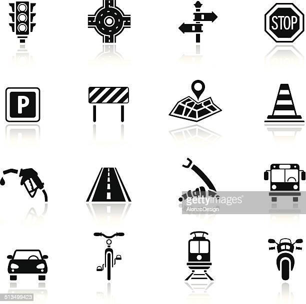 Set di icona Traffico